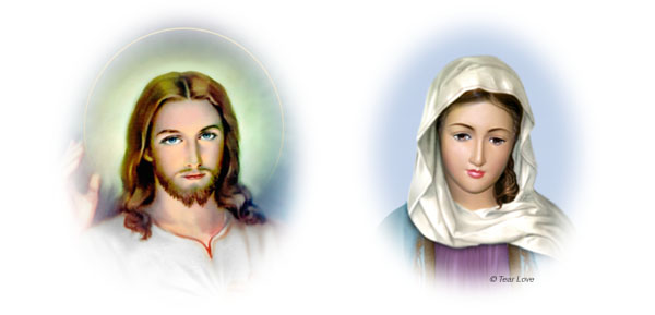Jesus and Mother Mary